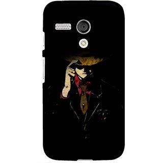 Snooky Designer Print Hard Back Case Cover For Motorola Moto G