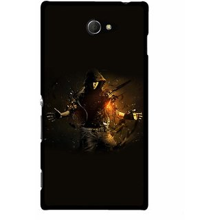 Snooky Designer Print Hard Back Case Cover For Sony Xperia M2