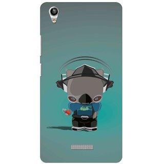 Snooky Digital Print Hard Back Case Cover For Lava Pixel V1