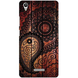 Snooky Digital Print Hard Back Case Cover For Lava Pixel V1