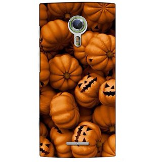 Snooky Digital Print Hard Back Case Cover For Alcatel One Touch Flash 2