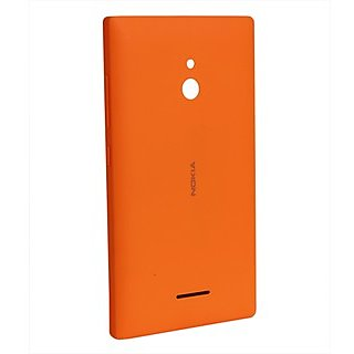 buy online dcfa0 f23e9 100%Original Nokia Xl Back Panel Orange