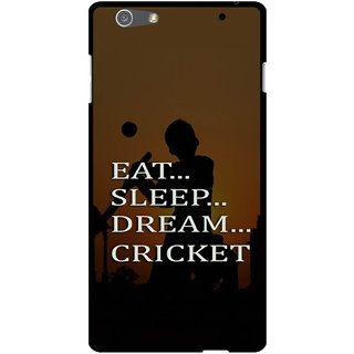Snooky Designer Print Hard Back Case Cover For Oppo R1