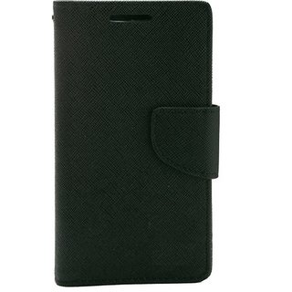 micromax canvas 2.2 A114 flipcover black