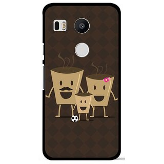 Snooky Designer Print Hard Back Case Cover For LG Google Nexus 5X