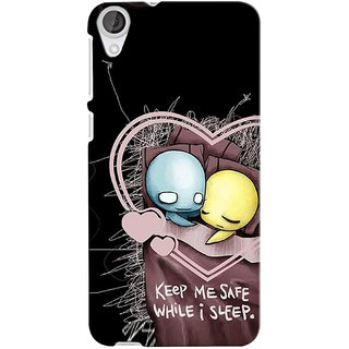Snooky Digital Print Hard Back Case Cover For HTC Desire 820