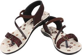 Bersache Footwear Brown-915 Women/Girls Sandals