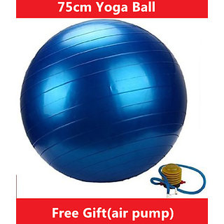 Gym Ball with Hand Pump - 75 cm (Assorted)