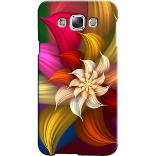 Snooky Digital Print Hard Back Case Cover For Samsung Galaxy E5