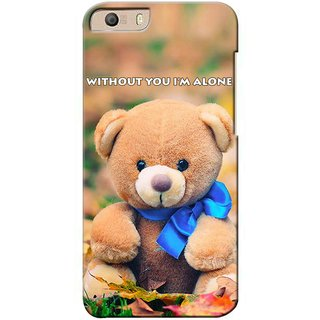 Snooky Digital Print Hard Back Case Cover For Micromax Canvas Knight 2