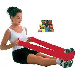 Konex Exercise Rubber Band - Red 35 No. (Light)