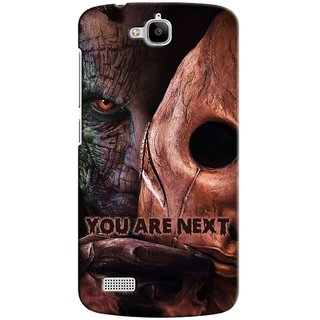 Snooky Digital Print Hard Back Case Cover For Huawei Honor Holly
