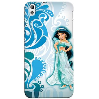 Snooky Digital Print Hard Back Case Cover For HTC Desire 816