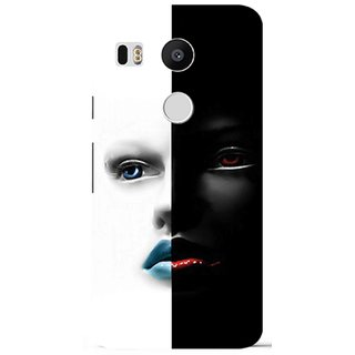 Snooky Digital Print Hard Back Case Cover For LG Nexus 5X