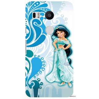 Snooky Digital Print Hard Back Case Cover For LG Nexus 5X