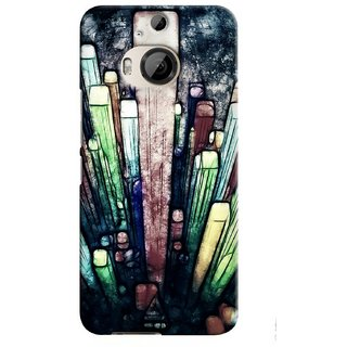 Snooky Digital Print Hard Back Case Cover For HTC One M9 Plus