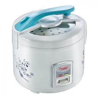 Portable Rice Cooker With Silver Colour