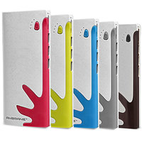 AMBRANE 10000MAH 3 USB POWER BANK P-1122 (Assorted Colors) - 1 Year Manufacturer Warranty