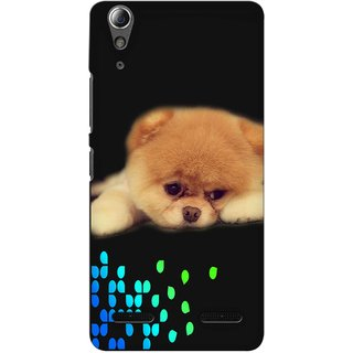 Snooky Digital Print Hard Back Case Cover For Lenovo A6000 Plus