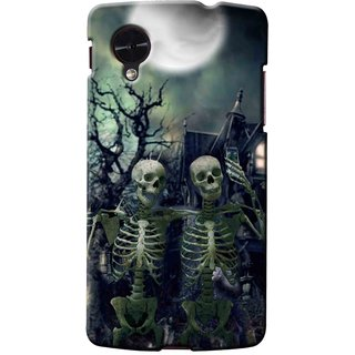 Snooky Digital Print Hard Back Case Cover For LG Google Nexus 5