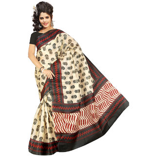 Shopfundeal Somya 25 Multicolor Bhagalpuri Silk Sarees
