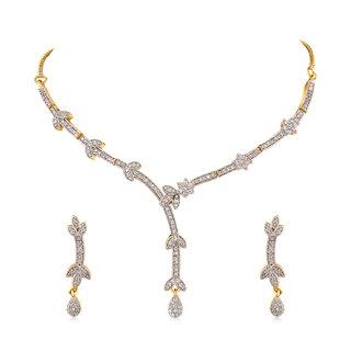 Inaya Ethnic Festive Fashion American Diamond Necklace