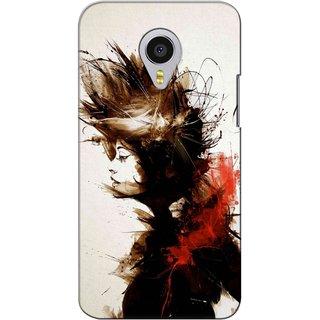 Snooky Digital Print Hard Back Case Cover For Meizu MX4 Pro
