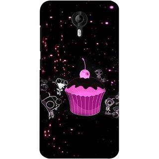 Snooky Digital Print Hard Back Case Cover For Micromax Canvas Nitro 3 E455