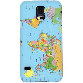 Snooky Digital Print Hard Back Case Cover For Samsung Galaxy S5