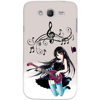 Snooky Digital Print Hard Back Case Cover For Samsung Grand Duos i9082