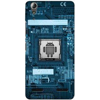 Snooky Digital Print Hard Back Case Cover For Lenovo A6000