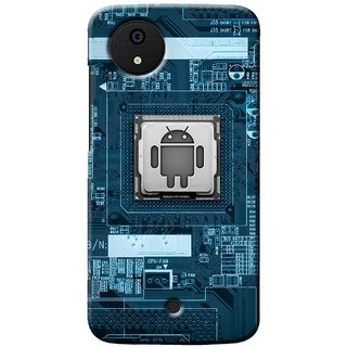 Snooky Digital Print Hard Back Case Cover For Micromax Canvas A1