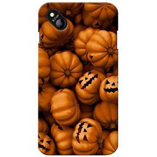 Snooky Digital Print Hard Back Case Cover For Micromax Bolt D303