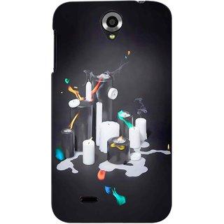 Snooky Digital Print Hard Back Case Cover For Lenovo A850