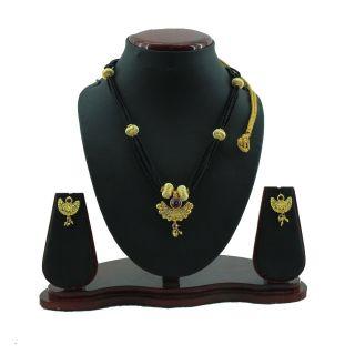sushito Maharashratrian Mangalsutra With Earring jsmjwms0024