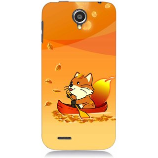 Snooky Digital Print Hard Back Case Cover For Lenovo A830