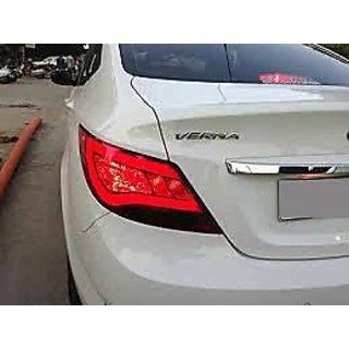 Hyundai Verna + Hyundai Emblem Logo Monogram