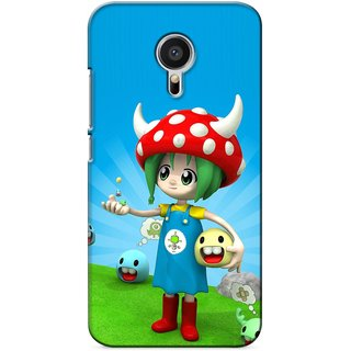 Snooky Digital Print Hard Back Case Cover For Meizu MX5