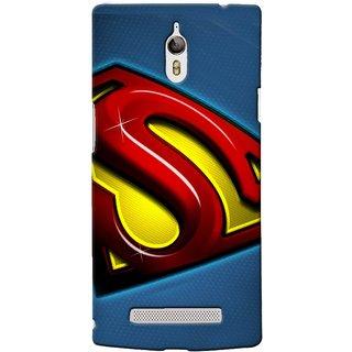 Snooky Digital Print Hard Back Case Cover For Oppo Find 7