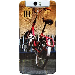 Snooky Digital Print Hard Back Case Cover For Oppo N1