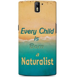 Snooky Digital Print Hard Back Case Cover For OnePlus One