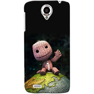 Snooky Digital Print Hard Back Case Cover For Lenovo S820