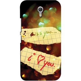 Snooky Digital Print Hard Back Case Cover For Lenovo ZUK Z1