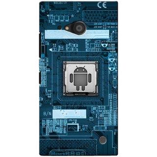 Snooky Digital Print Hard Back Case Cover For Nokia Lumia 735