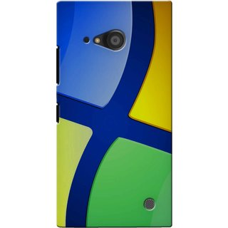 Snooky Digital Print Hard Back Case Cover For Nokia Lumia 735