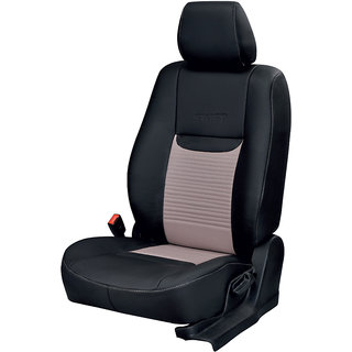 Chevrolet Beat Black Leatherite Car Seat Cover