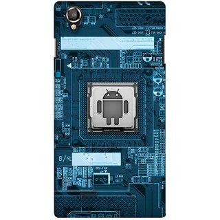 Snooky Digital Print Hard Back Case Cover For Lava Iris 800
