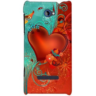 Snooky Digital Print Hard Back Case Cover For HTC 8S