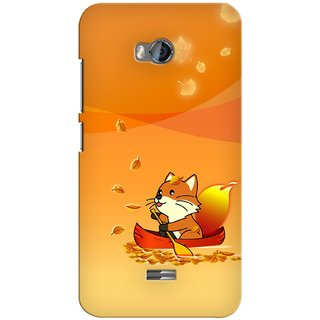 Snooky Digital Print Hard Back Case Cover For Micromax Bolt Q336