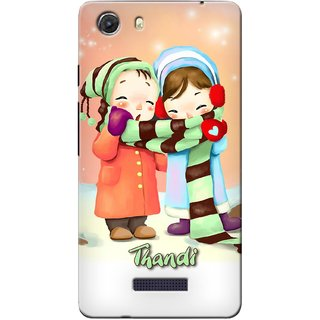 Snooky Digital Print Hard Back Case Cover For Micromax Unite 3 Q372